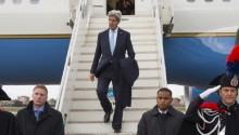 John Kerry in Rome for talks on Palestinian statehood bid