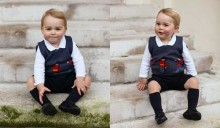 Prince George\'s new Christmas photographs released