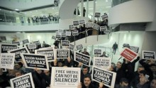 Journalists, police detained in Turkish raids