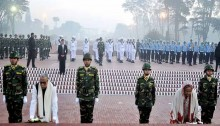 President and PM pay tributes to martyrs on 44th victory day
