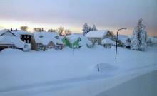 Heavy snow hits northern Japan