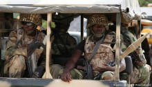 Nigeria sentences 54 soldiers to death for mutiny