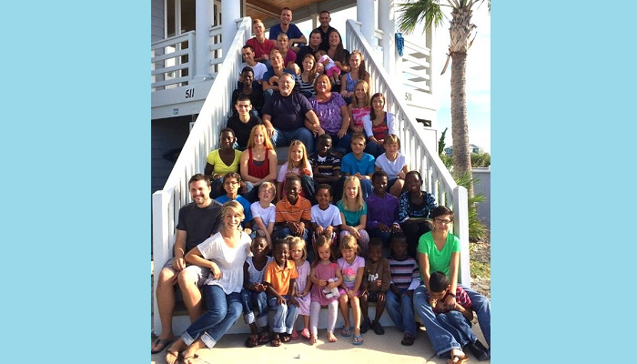 The family with 34 children!