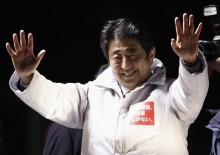 Shinzo Abe re-elected as Japanese prime minister by lower house