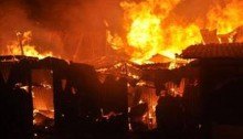Four injured in Gabtoli slum fire
