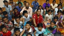 India tsunami couple find joy in helping orphans
