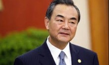 Chinese foreign minister arrives today