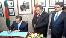 Bilateral relations reviewed between BD-China