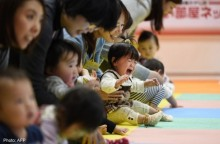 Japan newborn babies in 2014 fewest on record, says government