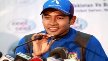 Mushfiq injured on shoulder in practice sessions
