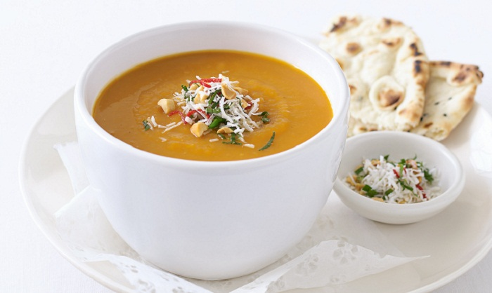 Healthy soups for winter