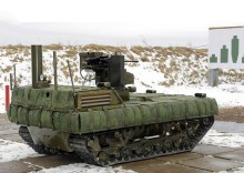 Russian Battle Robots Near Testing for Military Use