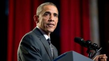 Obama aims to start 2015 on his own terms