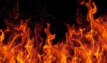 Fire at Rajshahi AL office