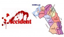 4 crushed under truck at Burichong area in Comilla