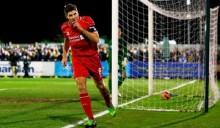 Gerrard inspires Liverpool victory