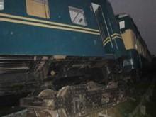 Train derailed in Kulaura, 100 injured