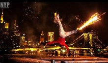 Strapping fireworks to legs and break-dancing for life
