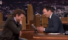Jimmy Fallon And Bradley Cooper Can\'t Stop Laughing... AGAIN!
