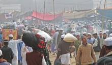 1st phase Ijtema begins amid transport blockade