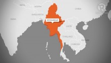 4 dead in Myanmar landslide