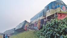 50 hurt in Moulvibazar train derailment