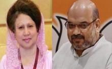 Amit Shah denies talk with Khaleda