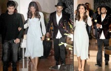 Ranveer proposes Deepika with a flower at Farah Khan's birthday bash (see pics)