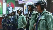Security around Khaleda's office reinforced