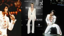Miley Cyrus' latest look pays tribute to Elvis Presley
