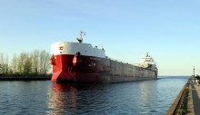 CSL's Atlantic Erie Aground off Quebec