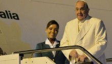 Pope Francis lands in Sri Lanka for 'mission of mercy'