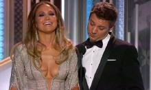 Renner defends his Joke about Lopez\'s \'Globes\'
