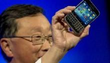 Blackberry shares soar 30% on Samsung offer report