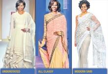 Please dress desi, Mrs Obama!