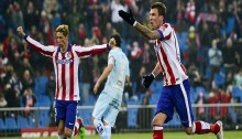 Atletico back up to third with Granada win