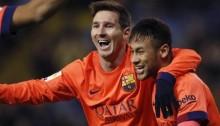 Messi scores 30th Barca hat-trick