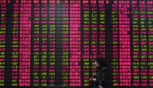 China stocks sink on lending curbs