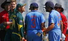 David Warner defends \'Speak English\' call to Rohit Sharma