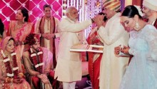 Narendra Modi, Bachchans and A-List guests