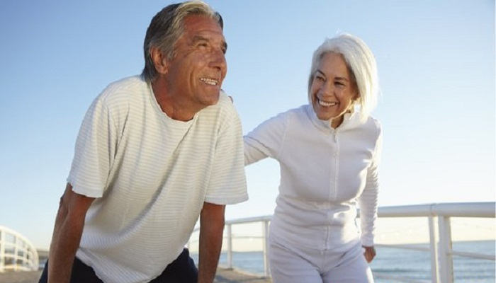 Fitness 'rubs off on your partner'