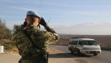 UN peacekeepers saw drones before Israeli air strike on Syria