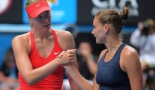 Second seed Sharapova survives scare