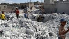 43 civilians killed in Syria airstrike