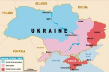 Ukraine crisis: Donetsk bus stop \'shelling kills 13\'