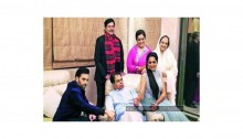 Dilip & Saira touched by Sinhas' house visit