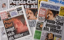 Germany Pegida: Protest leader quits amid Hitler row