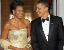 Michelle Obama accompanying Obama to India