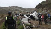 16 killed in Mexico bus crash