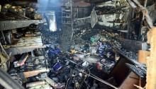 125 shops gutted in Rangamati market fire